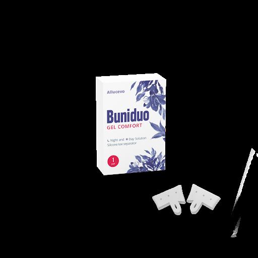 Buniduo Gel Comfort ir novatoriska stratēģija, kas ļauj vienreiz un uz visiem laikiem atvadīties no haluksām!