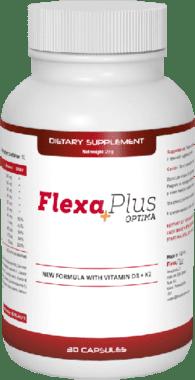 Flexa Plus Optima ir oriģināla recepte, lai atjaunotu locītavu formu!