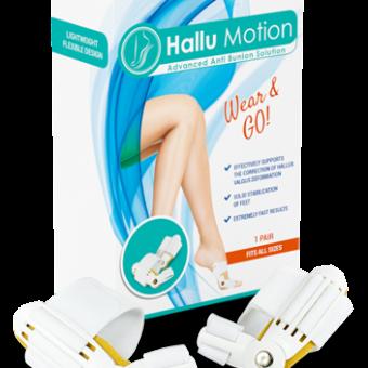 Hallu Motion ir pievilcīgs variants katrai sievietei, kura plāno atbrīvoties no bunjoniem un izbaudīt pievilcīgas kājas.